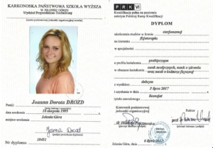 Mgr Joanna Drozd Licencjat